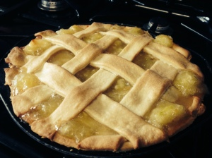 Homemade apple pie recipe
